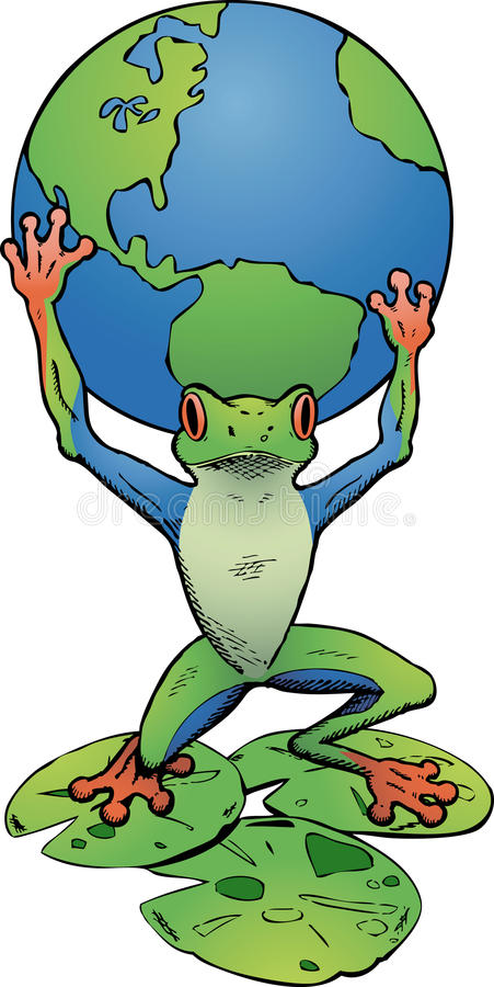 Tree Frog Atlas stock images