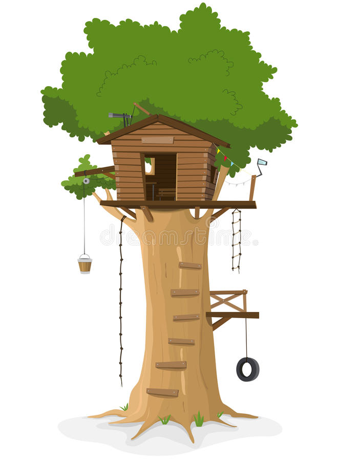 Free Tree House Stock Images - 21144044