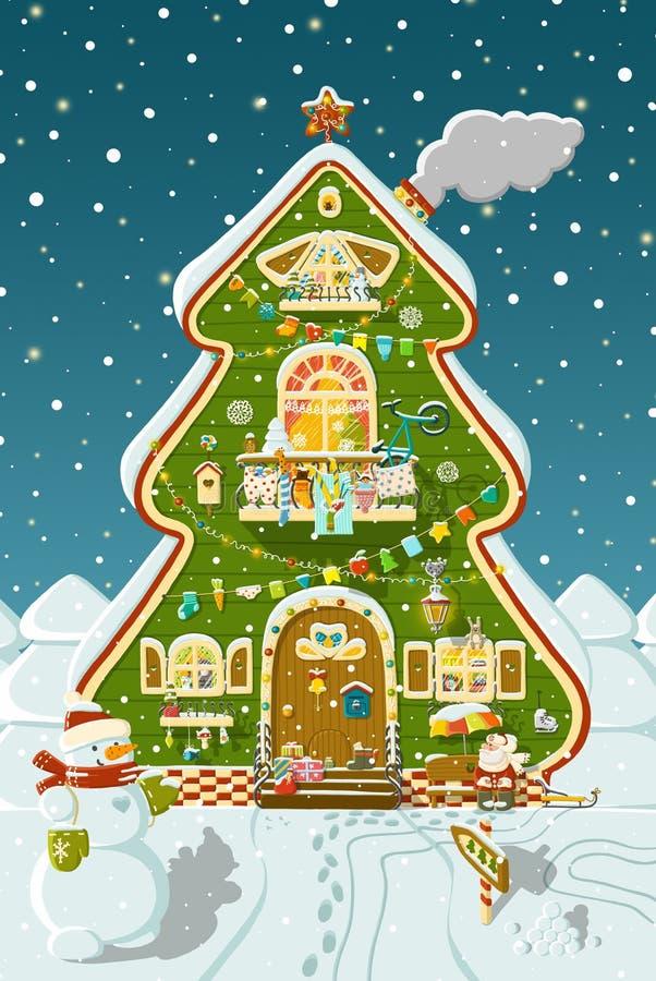 Free Tree House Royalty Free Stock Photography - 36037827