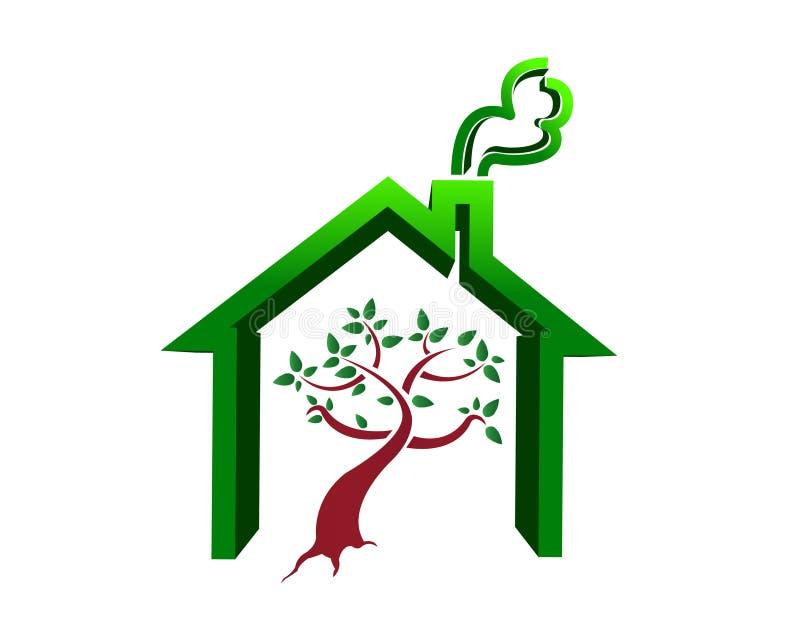 Tree House Illustration Stock Images