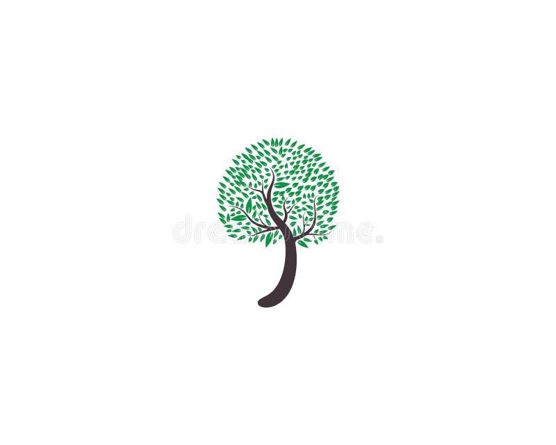 Tree icon logo royalty free illustration