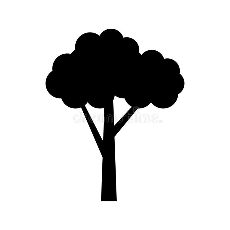 Tree icon vector. Tree sign illustration for web sites or mobile stock illustration