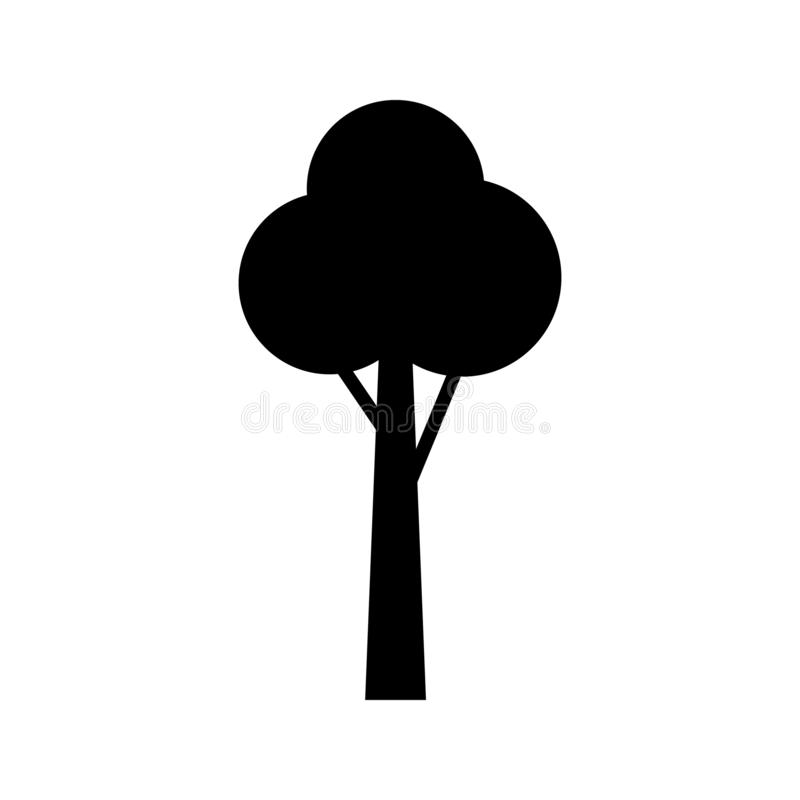Tree icon vector. Tree sign illustration for web sites or mobile vector illustration