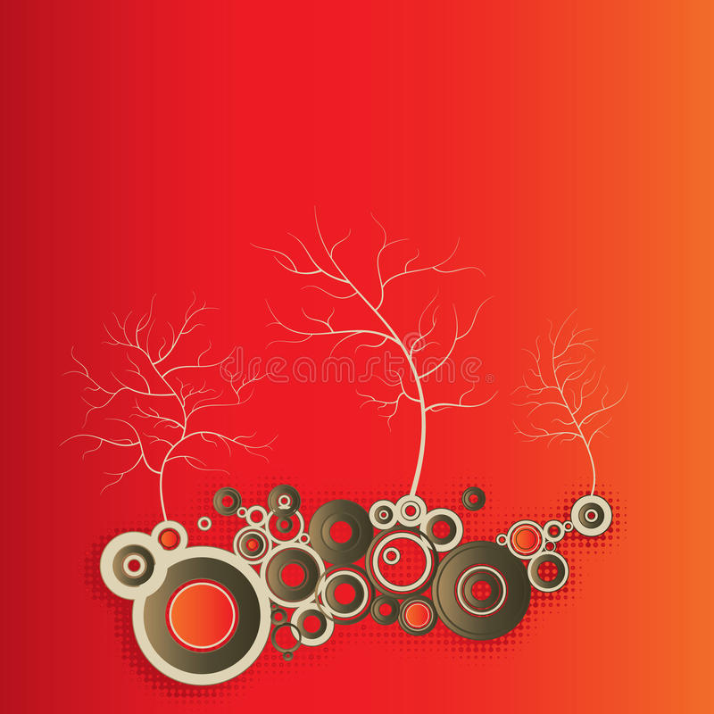 Tree illustration graphic