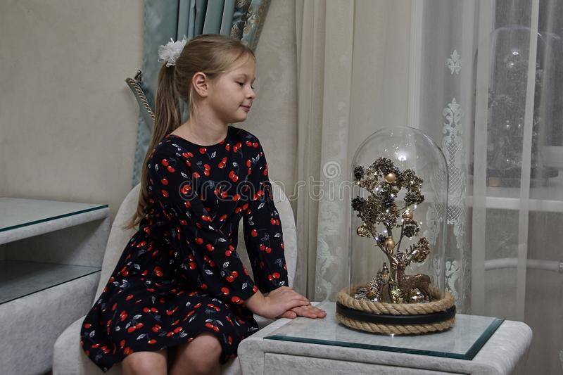 A Magic Tree Under A Glass Cupola stock image
