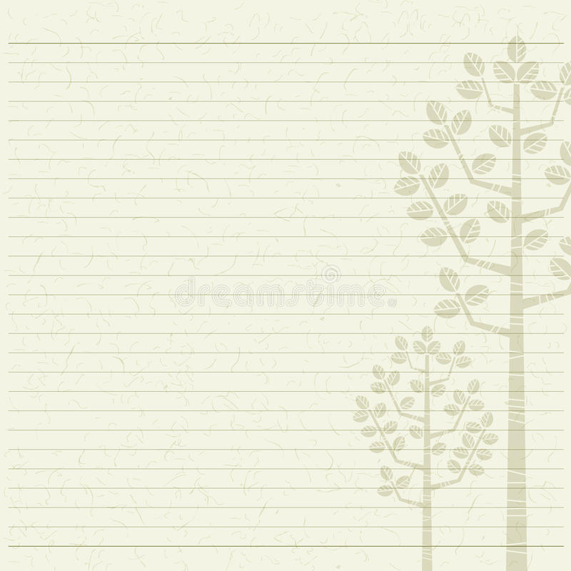 Tree letter paper stock images