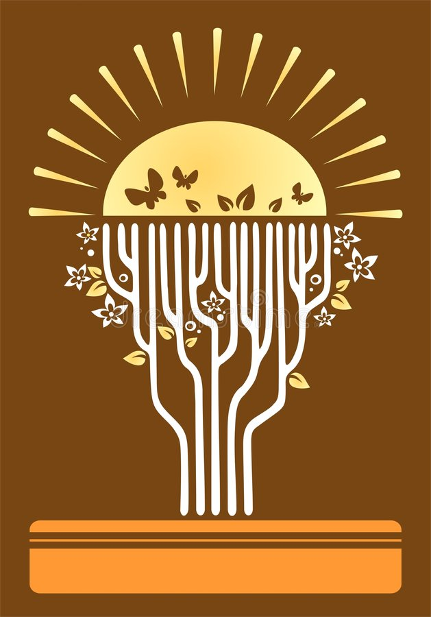Download Tree of a life stock vector. Image of revival, symbolical - 5670456