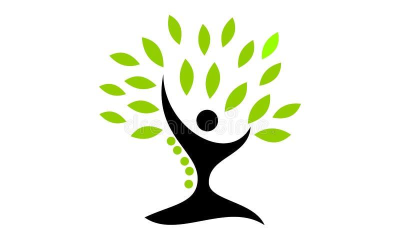 tree of life healing center stock vector illustration of logo rh dreamstime com tree of life logo design tree of life logos in pics