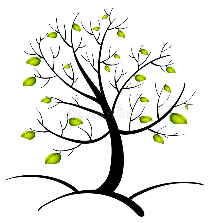 tree of life stock vector illustration of curl diversity 33694238 rh dreamstime com tree of life black and white clipart tree of life silhouette clip art