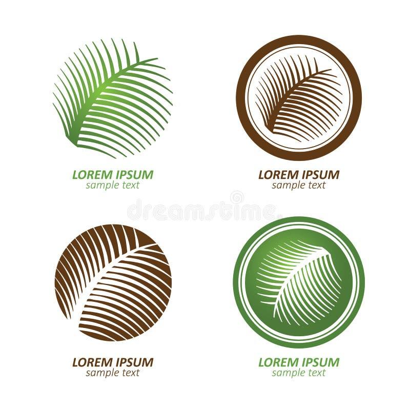 Tree logo royalty free illustration
