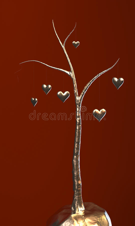 Tree of Love stock image