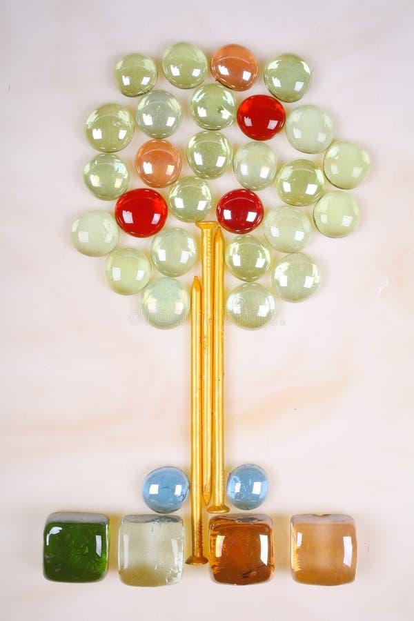 Download Tree Mosaic stock photo. Image of crafty, fruits, crimson - 4243894