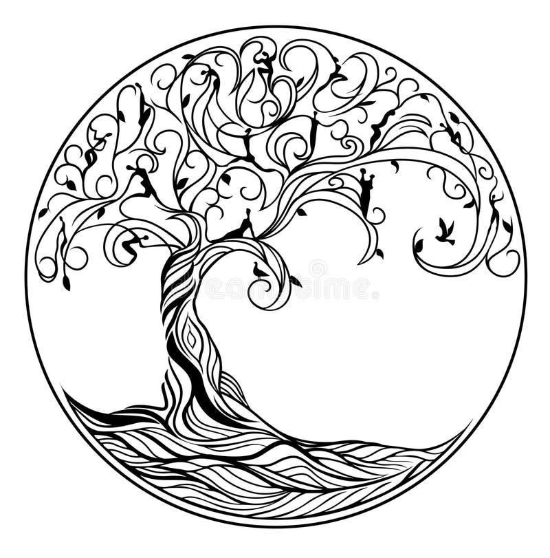 Free Tree Of Life Royalty Free Stock Image - 65838366