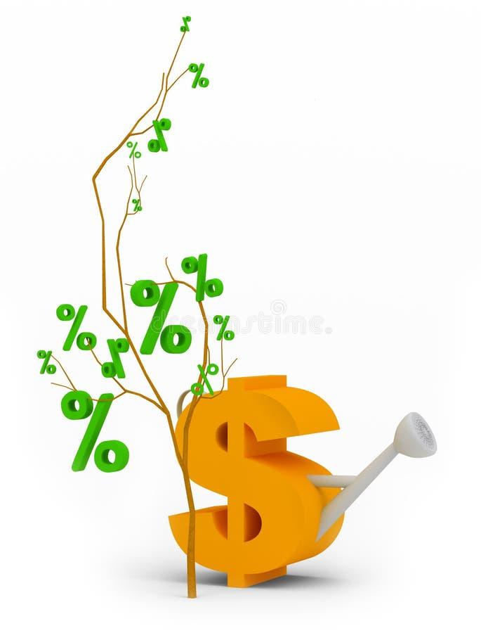 Download Tree of percent stock illustration. Illustration of stature - 11860442