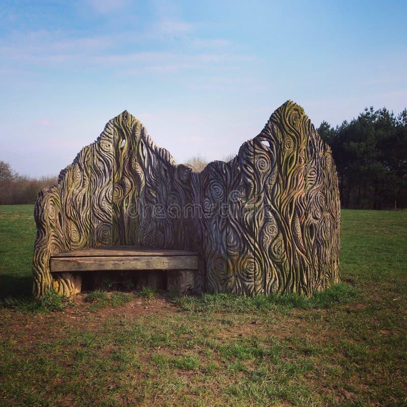 Tree Seat stock image
