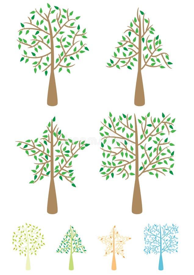 Download Tree Shape_eps Stock Photo - Image: 20490890