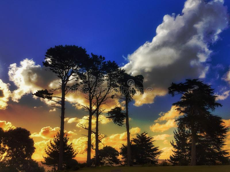 Landscapes in New Zealand stock photo