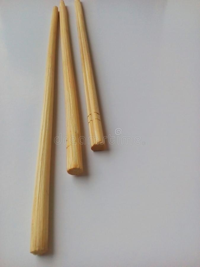 Tree small stick of yellow bamboo royalty free stock photography