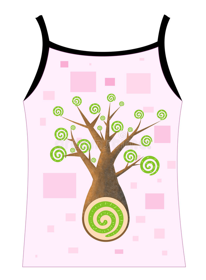 Tree symbol design royalty free stock photo