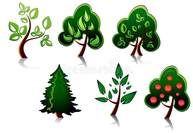 Tree Symbols Stock Photography
