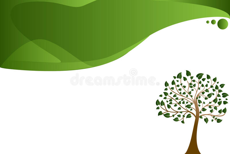 Treebakgrund vektor illustrationer