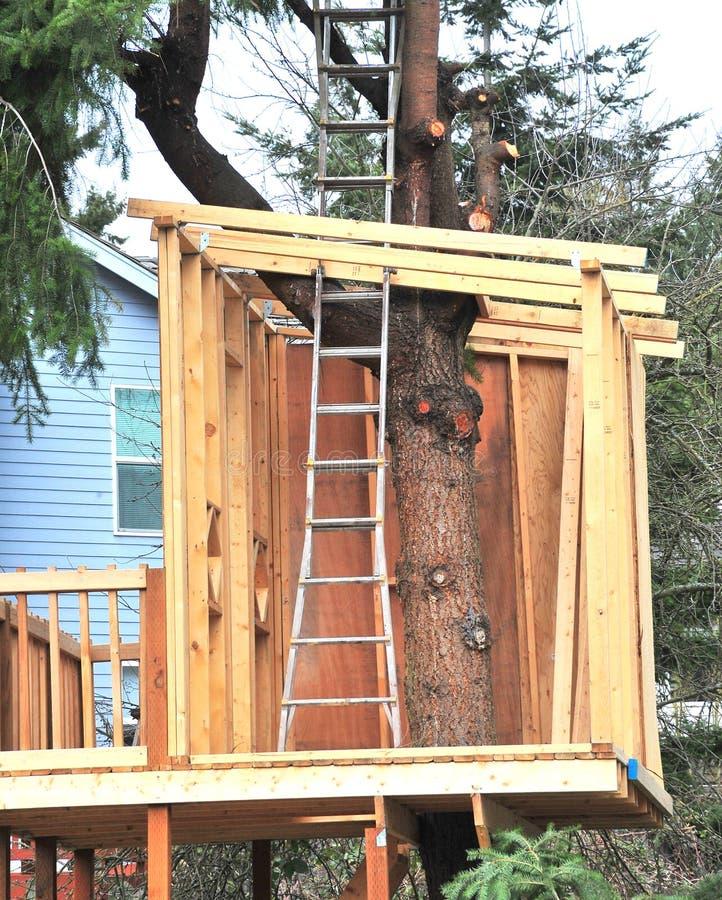 Treehouse. stock foto