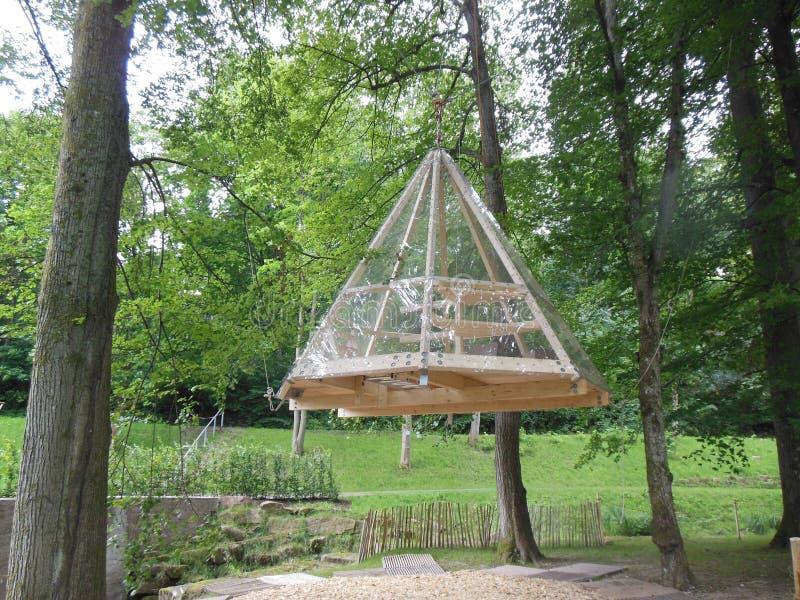Treehouse royalty free stock image