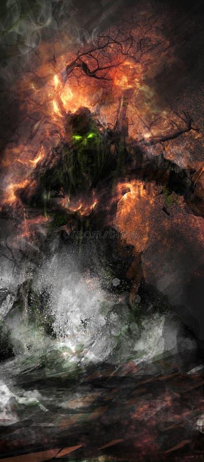 treeman的幻想 皇族释放例证