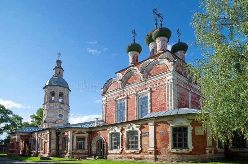 Treenighetkyrka i Ostashkov royaltyfri foto