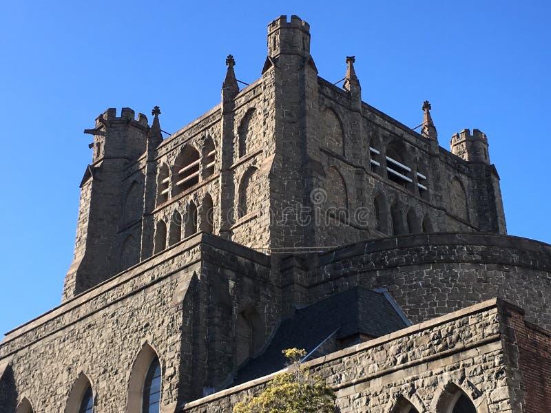 Treenighetkyrka San Francisco, den äldsta episkopalkyrkan på västkusten, 1 royaltyfri fotografi