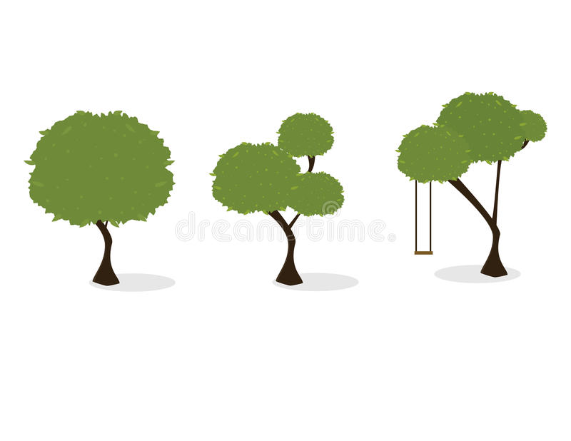 Download Trees stock illustration. Illustration of illustration - 14848329