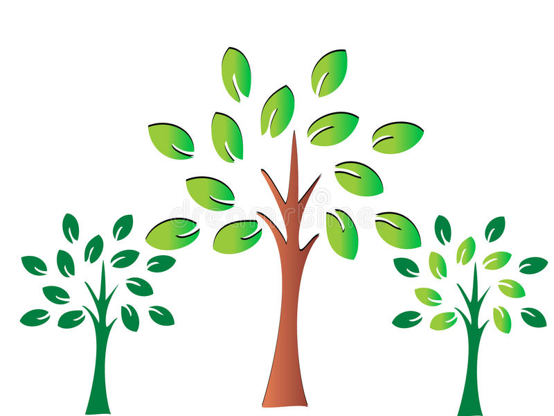 Download Trees stock vector. Image of detail, banner, care, icon - 20909372