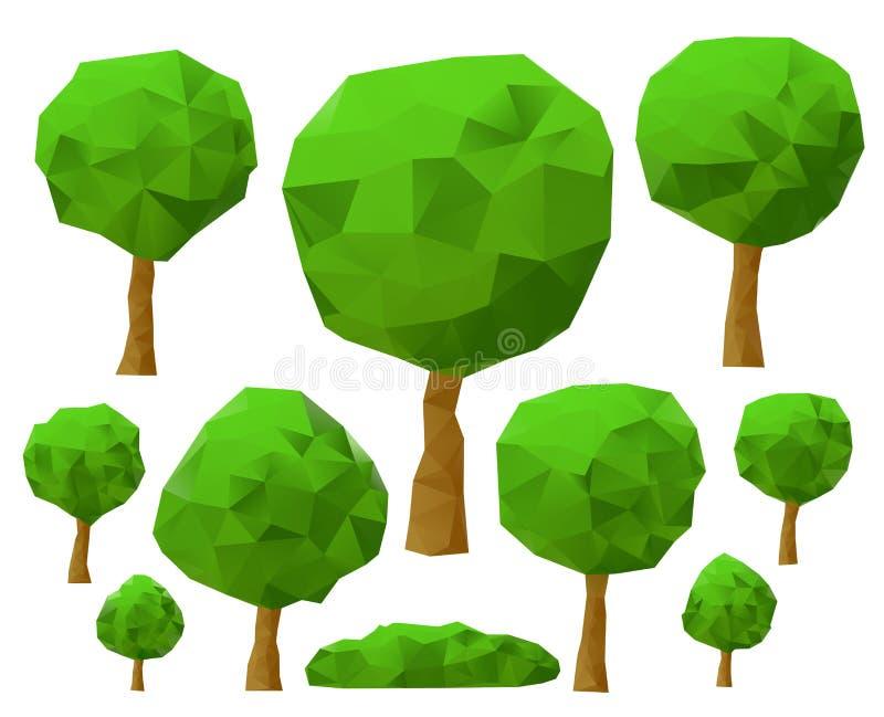 Download Trees 3d Imitation . Vector Illustration. Stock Vector - Image: 27403451