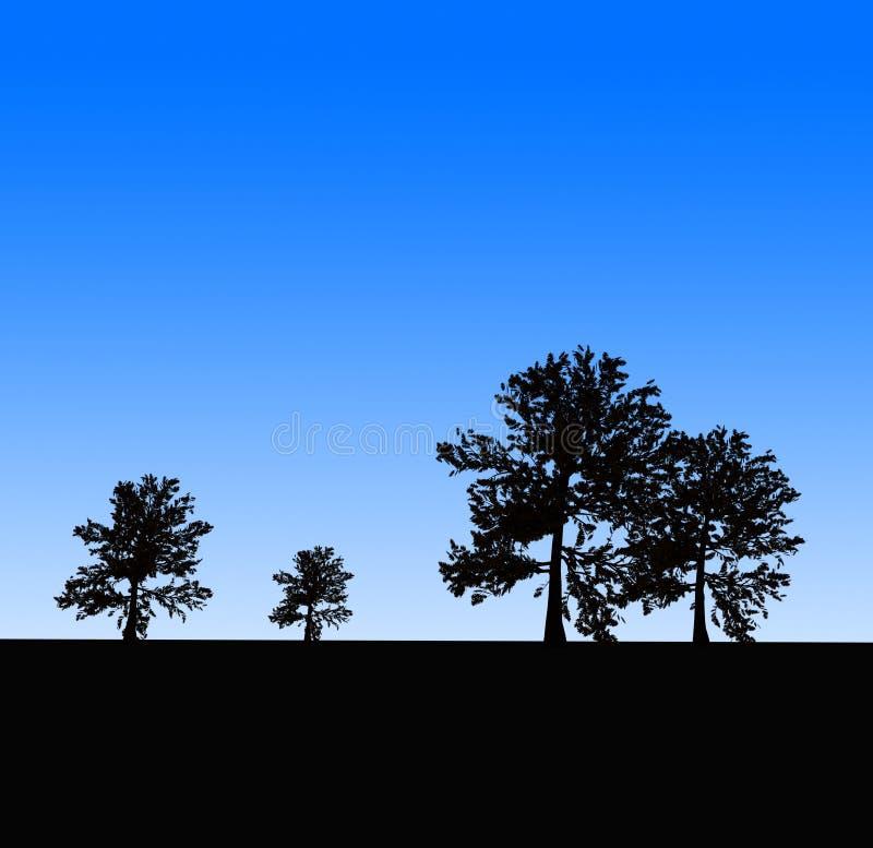 Trees stock image