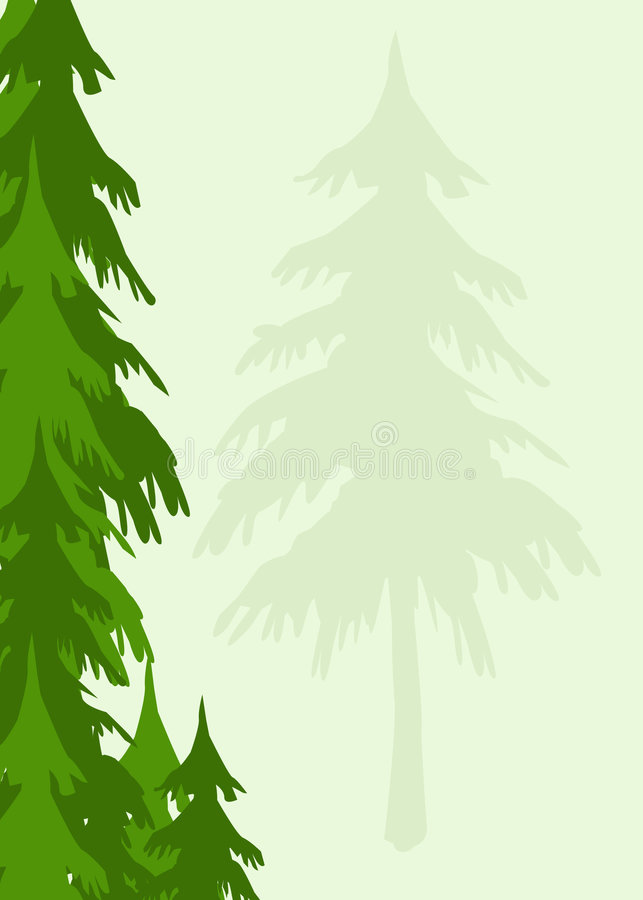 Download Trees background stock illustration. Image of plants, plant - 1713816