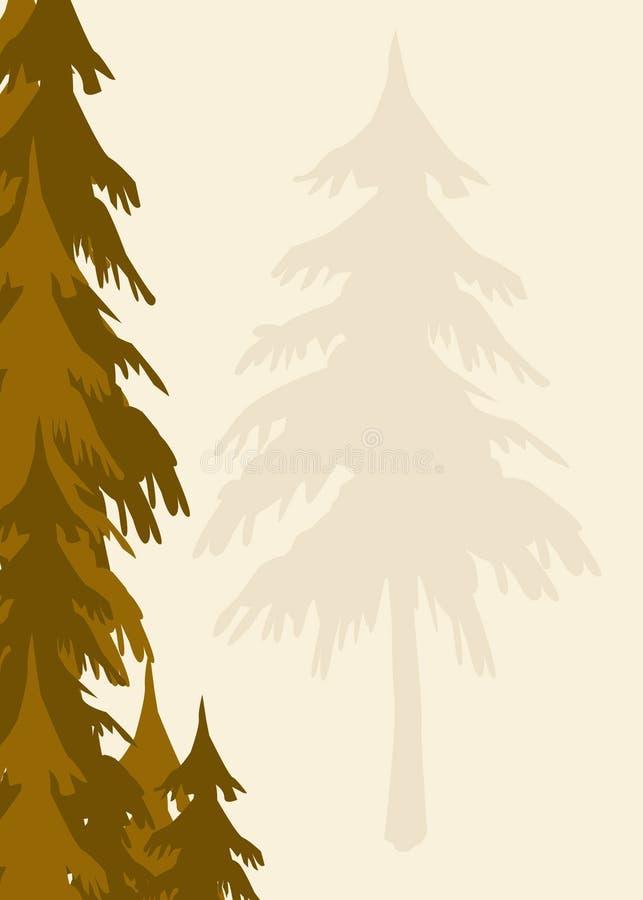 Download Trees background stock illustration. Image of nature, botanical - 1722432