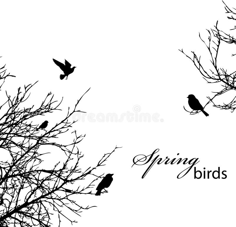 Download Trees And Birds Royalty Free Stock Photos - Image: 19225368