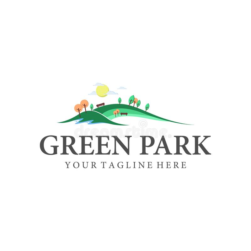 Park and outdoor logo designs inspirations vector illustration