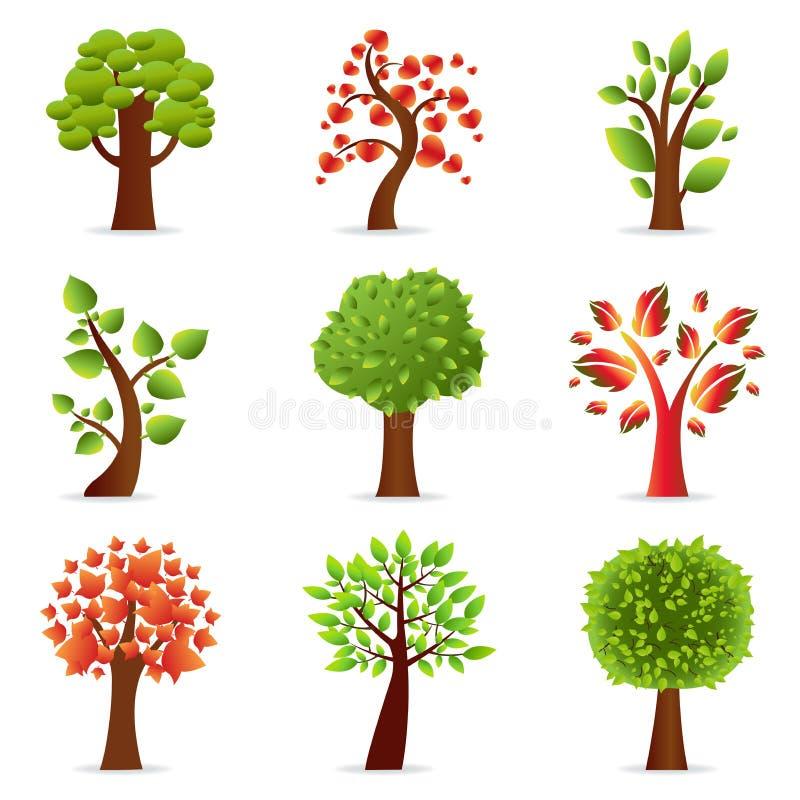Trees. Vector vector illustration