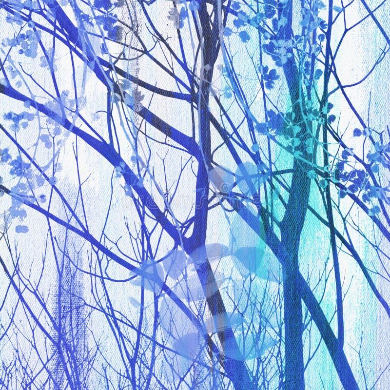 Treetop obraz ilustracja wektor