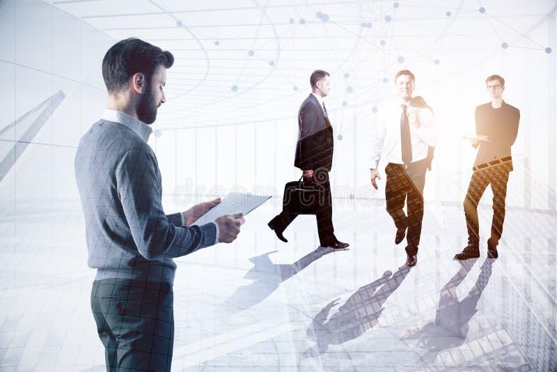 Treffen und Arbeitskonzept stockfotos