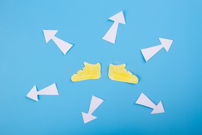 Treffen von Entscheidungen w?hrend der Zukunft lizenzfreie stockfotos