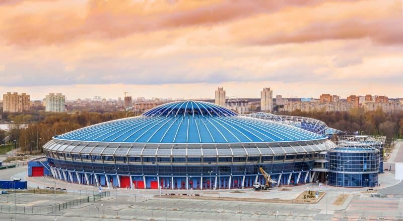 Trefpunt voor 2014 Wereldkampioenschap IIHF stock afbeeldingen