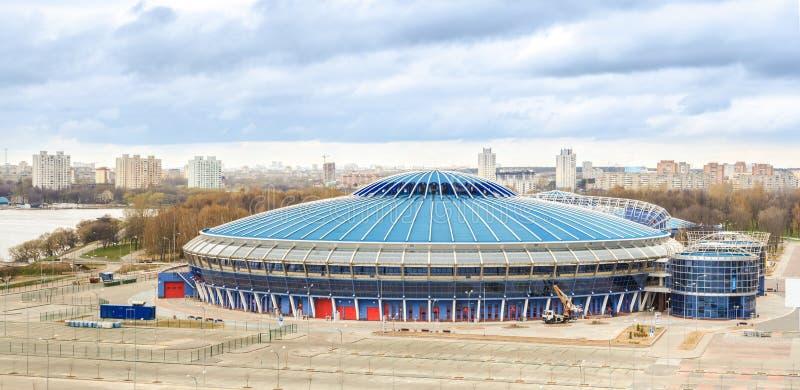 Trefpunt voor 2014 Wereldkampioenschap IIHF royalty-vrije stock foto