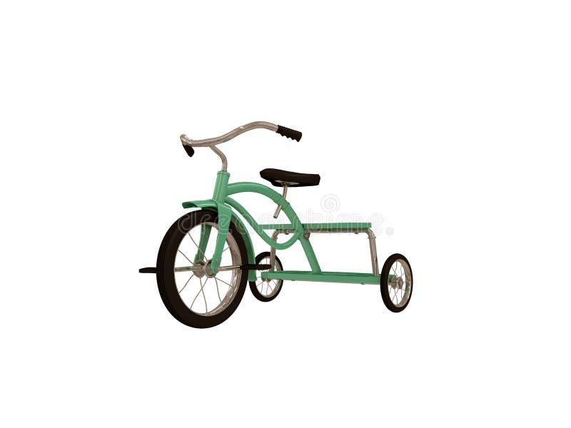 trehjuling royaltyfri illustrationer
