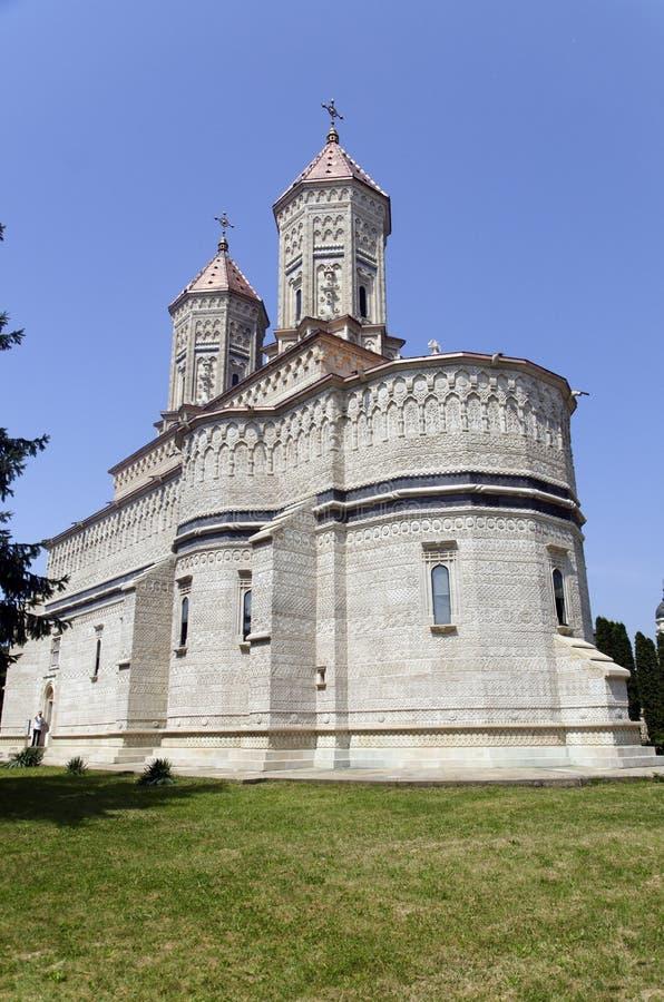 Trei Ierarhi kyrka, Iasi, Rumänien arkivbilder