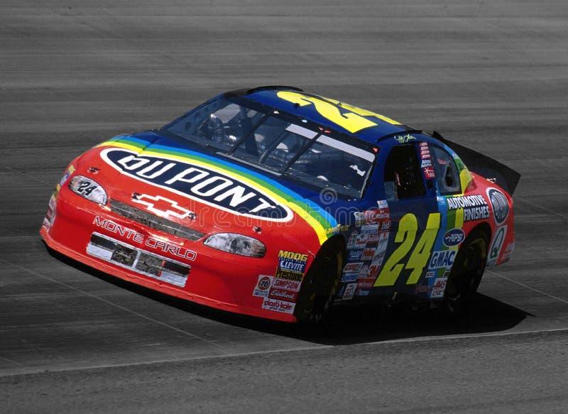 Treiber Jeff-Gordon NASCAR stockbild