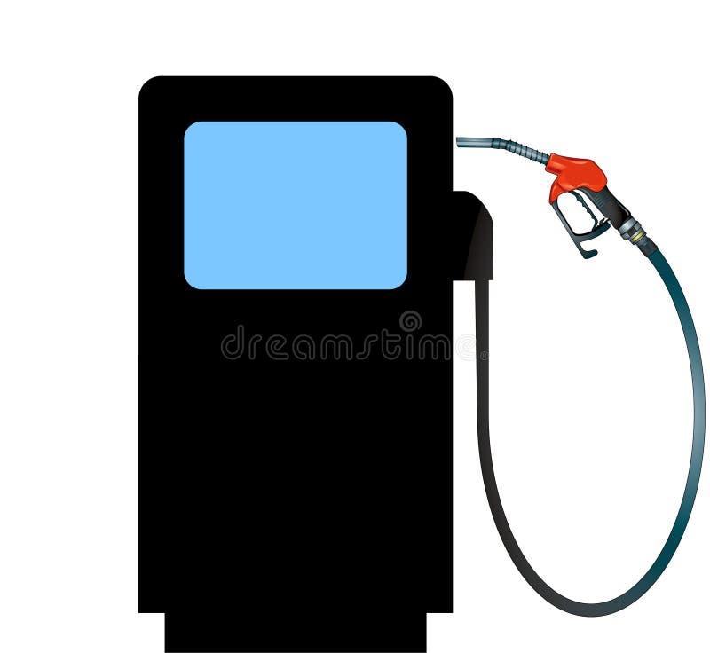 Treibstoff teuer lizenzfreie abbildung