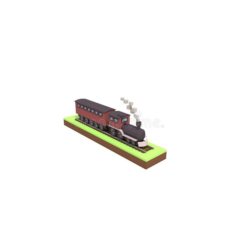 Download Trein stock illustratie. Illustratie bestaande uit kunstwerk - 107703137