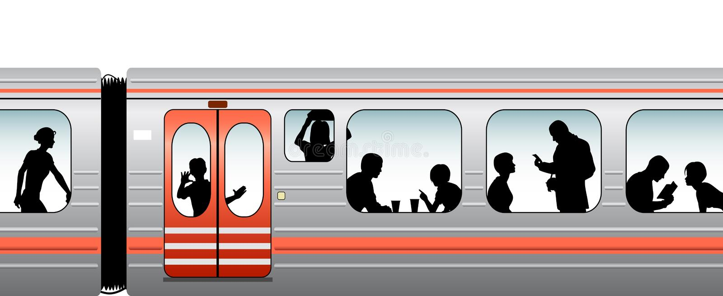 Trein vector illustratie